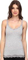DKNY Intimates Women's Downtown Cotton Tank White Pajama Top