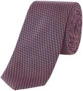 Kenneth Cole Naka Geo Design Silk Tie