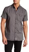 VISSLA Oxford Short Sleeve Regular Fit Shirt