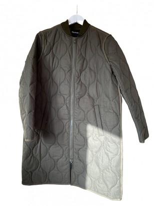 Madewell Khaki Cotton Coat for Women