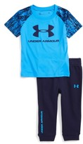 Under Armour Infant Boy's Digital City Core T-Shirt & Jogger Pants Set