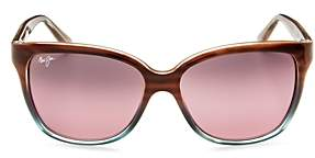 Maui Jim Starfish Rectangle Sunglasses, 56mm