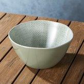 Crate & Barrel Porto Sage Green Bowl