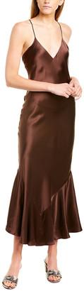 Alix Seneca Silk Maxi Dress
