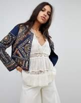 Raga Arwen Embroidered Velvet Trophy Jacket