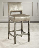 Old Hickory Tannery Valerian Bar Stool