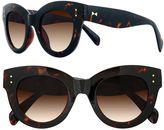 Lauren Conrad 49mm Nobu Oversized Cat-Eye Sunglasses