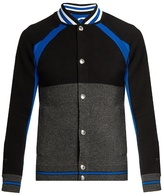 Givenchy Contrast-panel Wool Jacket