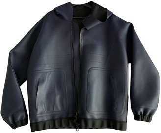 Louis Vuitton Navy Leather Jackets