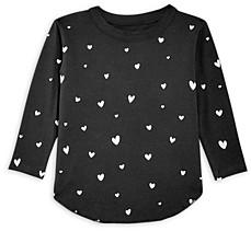 Chaser Girls' Heart Print Tee - Little Kid