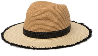 14th & Union Raw Edge Panama Hat