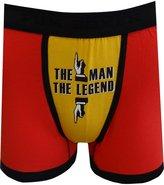 Fun Boxers Mens Fun Prints Crotch Print Boxer Briefs