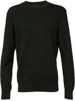 A.P.C. diamond jacquard jumper - men - Virgin Wool/Polyester - XS
