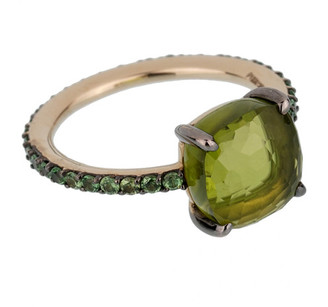 Pomellato 18K 4.20 Grams 4.17 Ct. Tw. Gemstone Cocktail Ring