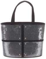 Tod's Sequin-Embellished Mini Handle Tote