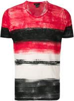 Avant Toi printed stripe T-shirt