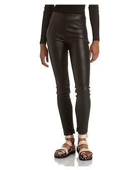Theory Skinny Legging Lther
