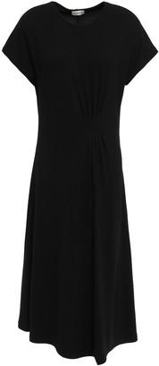 By Malene Birger Asymmetric Stretch-knit Midi Dress