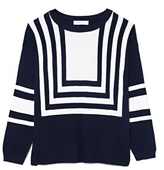 Vince Camuto Two by Intarsia Sweater