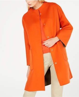 Max Mara Drava Reversible Dolman-Sleeve Coat