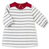 Petit Bateau Baby girl dress in heavy striped jersey