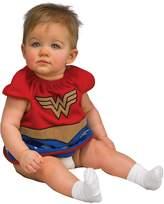 Rubie's Costume Co Baby Costume, Justice League Wonder Woman Bib,0-9 Months