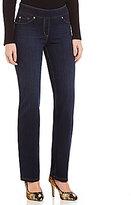 Peter Nygard Nygard SLIMS Petite Luxe Denim Slim Straight Pants