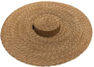 Jacquemus Les Santons de Provence Beige Wicker Hats