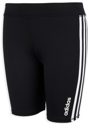 adidas Girl's 3-Stripe Bike Shorts