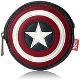 Loungefly Women's Marvel Captain America Shield Bag Coin Purse
