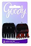 Goody Women's Classics 1/2 Claw Clip, 2 Count