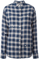 R 13 plaid shirt - women - Cotton - S
