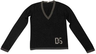 Dolce & Gabbana Grey Cashmere Knitwear for Women