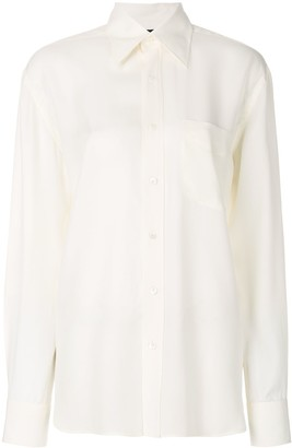 Tom Ford Crepe Buttoned Shirt