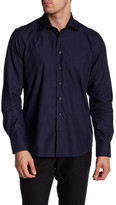 Toscano Glenplaid Cutaway Regular Fit Shirt