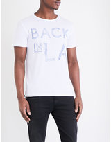 Replay Back In La Cotton-jersey T-shirt