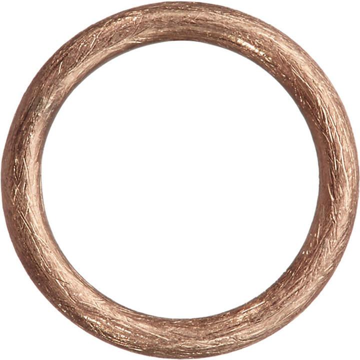 Rosegold Annoushka Hoopla 18ct rose-gold small hoop pendant