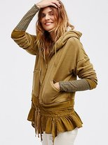 Free People When Worlds Meet Hoodie