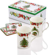 Spode Christmas Tree Annual 5-piece Tin Gift Set