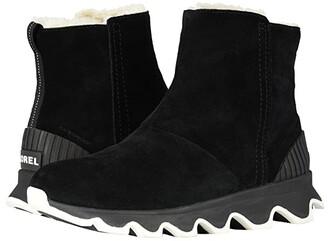 Sorel Kinetic Short (Black/Sea Salt) Women's Cold Weather Boots