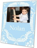 The Well Appointed House Light Blue Provencial Decoupage Photo Frame-Can Be Personalized