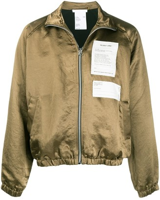 Helmut Lang Multi-Patch High-Neck Jacket