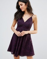 Oh My Love Lace Cami Skater Dress