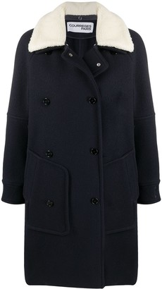 Courreges Detachable-Collar Coat