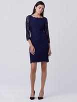 Diane von Furstenberg Zarita Long Lace Dress