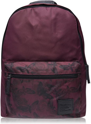 Firetrap Blackseal Print Backpack