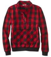 L.L. Bean Signature Popover Flannel Shirt, Check