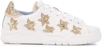 Chiara Ferragni Roger glitter star sneakers
