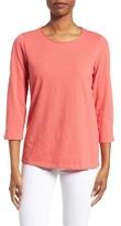 Eileen Fisher Women's Slubby Organic Cotton Jersey Top