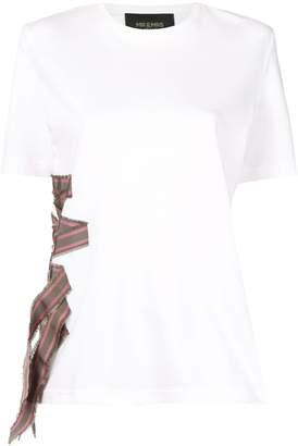 Mr & Mrs Italy band appliqué T-shirt